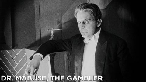 Dr. Mabuse the Gambler cover image