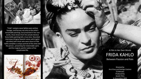Frida Kahlo…Between Passion and Pain