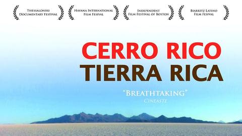 Cerro Rico, Tierra Rica cover image