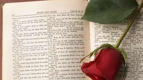 Romeo and Juliet—Words, Words, Words