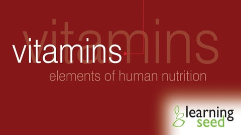 Elements Of Human Nutrition: Vitamins