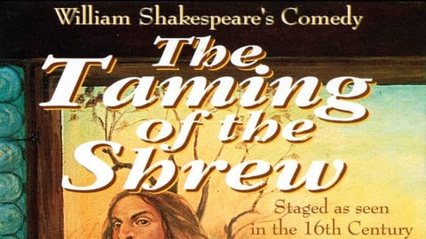 Preview image of Shakespeare Series: Taming Of Shrew