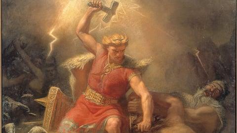 Thor--A Very Human God