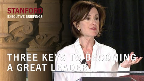 Three keys to becoming a great leader cover image