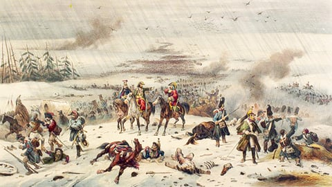 "Russia: Napoleon Retreats in the Snow&́#x80;""1812"