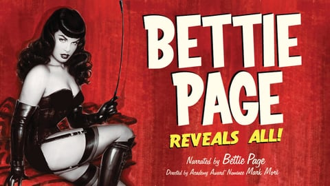 Preview image of Bettie Page Reveals All