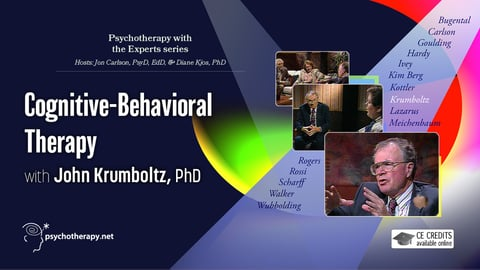 Preview image of Cognitive-behavioral therapy with John Krumboltz