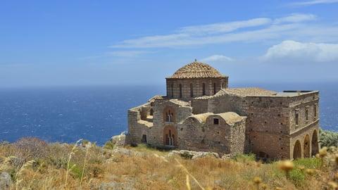 Byzantine Outposts: Monemvasia And Mistra