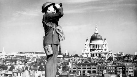 The Battle of Britain—and the Blitz