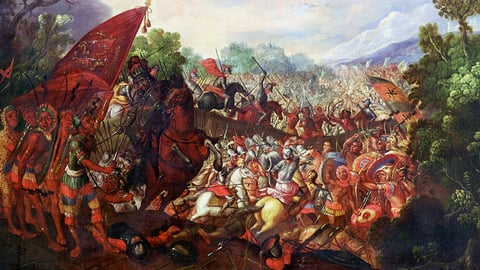 The Siege of Tenochtitlan