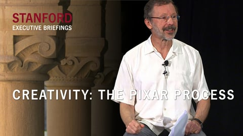Creativity - The Pixar Process