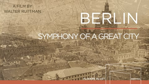 Preview image of Berlin, symphony of a great city