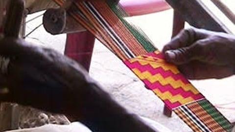 Kente - Woven Ceremonial Cloths Of Ghana