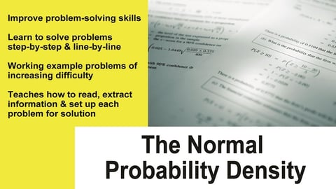 Preview image of Normal Probability Density