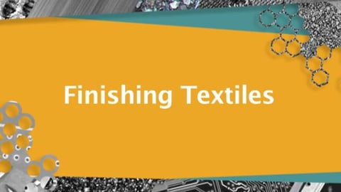 Textiles: Industrial Finishing Processes