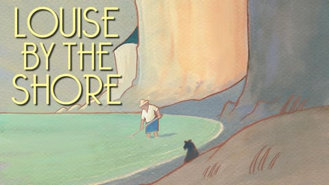 Louise by the shore = Louise en hiver cover image