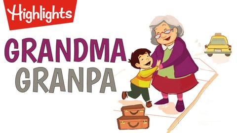 Grandma, Grandpa, and Me