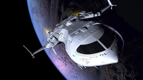 The Spaceship as A Science Fiction Icon