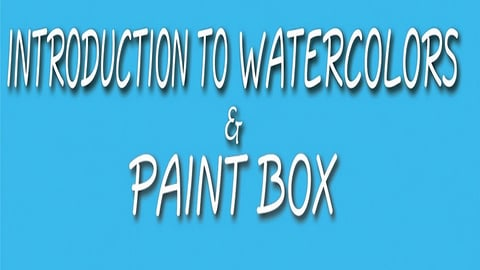 Preview image of Simply Painting: Introduction to Watercolors & Paint Box