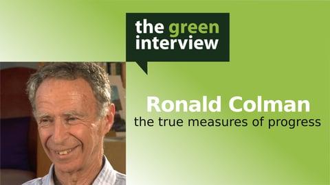 GPI Atlantic & True Progress Index: Ron Colman