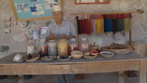 Preview image of The Zapotec Way - Dyeing and Weaving at La Grana Tejidos
