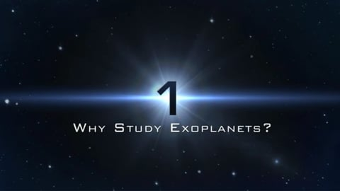 Why Study Exoplanets?