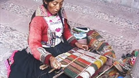 Preview image of Traditional Peruvian Weaving