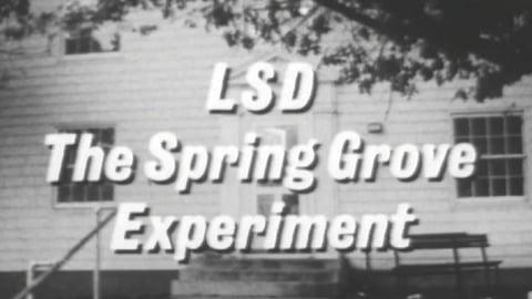 LSD Spring Grove Experiment