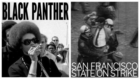 Black Panther / San Francisco State: On Strike