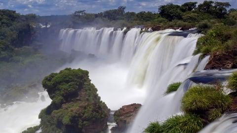 Iguazu Falls-Thundering Waterfalls