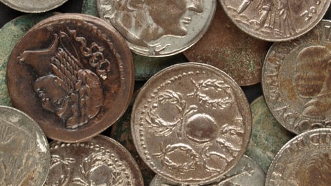 The Galley, Coins, and the Alphabet