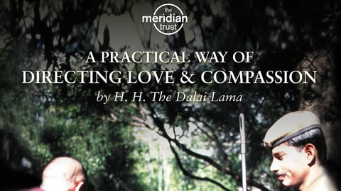 Dalai Lama - Practical Way Of Directing Love And Compassion