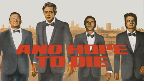 And Hope To Die cover image