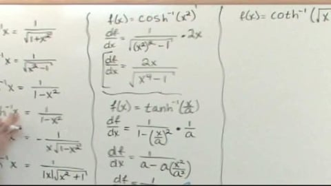 Calculus 2 Advanced Tutor: Learning By Example  Inverse Hyperbolic