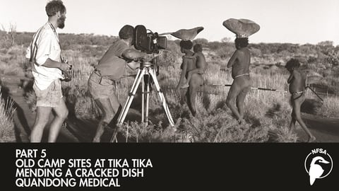 Old Camp Sites at Tika Tika - Mending a Cracked Dish - Quandong Medical cover image