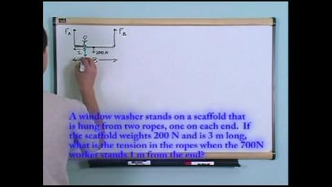 Preview image of Physics Tutor Series: Learning By Example. Rotational Equilibrium
