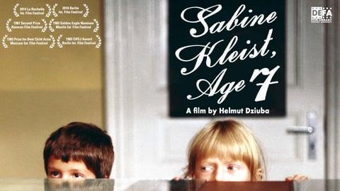 Sabine Kleist, Age 7 (Sabine Kleist, 7 Jahre)