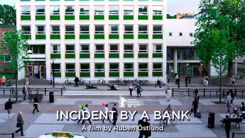 Incident by a bank