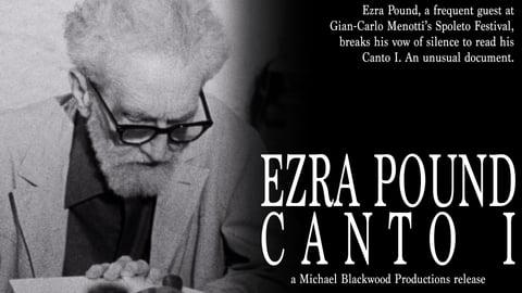Ezra Pound: Canto I cover image