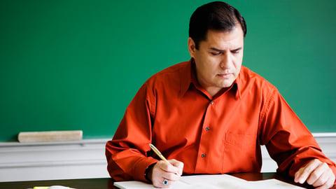 Why Blame the Teacher?