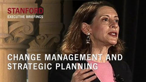 Change Management and Strategic Planning - With Roberta Katz