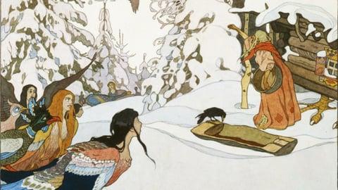 Cinderella II: Baba Yaga and Goddesses