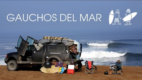 Gauchos Del Mar Surfing The American Pacific (English Translation)