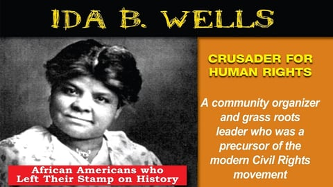 Preview image of Ida B. Wells: Crusader For Human Rights