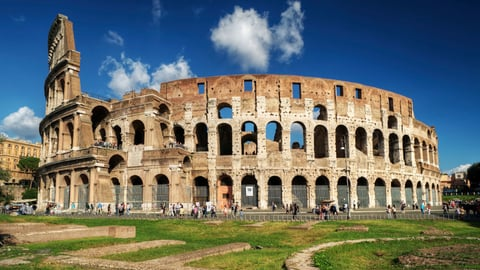Roman Arches - Aqueducts and the Colosseum