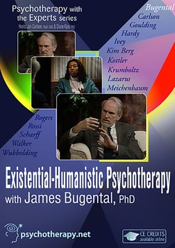Existential-Humanistic Psychotherapy with James Bugental