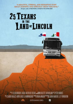 25 Texans in the Land of Lincoln - College Students Honor Abraham Lincoln's Support of Mexico