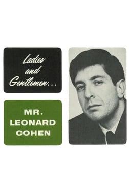 Ladies and Gentlemen… Mr. Leonard Cohen - An Intimate Look into a Poet's Life