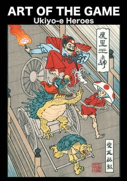 Art of the Game: Ukiyo-e Heroes - Juxtaposing Traditional Art with Pop Culture Icons