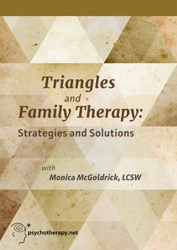 Triangles and Family Therapy: Strategies and Solutions